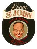 St. John Rum Label Prints