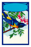 Bluebird in Cherry Tree Prints