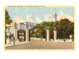 University of California, Berkeley Giclée-Premiumdruck