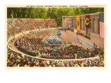 Greek Theatre, University of California, Berkeley Print