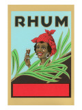 Rhum, Black Woman with Headscarf Posters