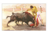 Bullfighting: The Kill Print