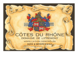 Cotes du Rhone Label Prints