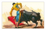 Bullfighting Scene Prints