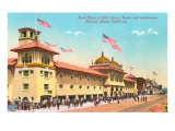 Bath House, Redondo Beach Poster