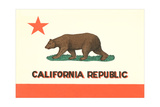 California Flag Posters