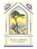 Season's Greetings from California, Torrey Pine Posters