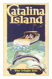 Men Fishing, Catalina Island Prints