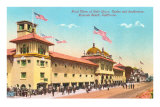 Bath House, Redondo Beach Print