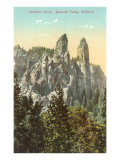 Cathedral Spires, Yosemite Posters