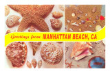 Greetings from Manhattan Beach Poster