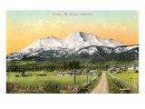 Sunrise, Mt. Shasta, California Posters