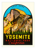 Half-Dome, Yosemite National Park Poster