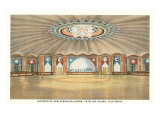 Casino Interior of Santa Catalina Prints