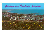 Greetings from Ventura Posters