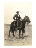Photo of Cowboy on Horse Posters