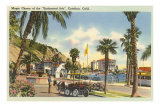 Pony Cart, Santa Catalina Prints
