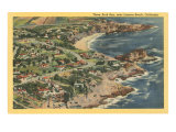 Three Arch Bay, Laguna Beach, California Kunstdrucke