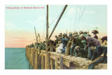 Fishing Pier, Redondo Beach Posters