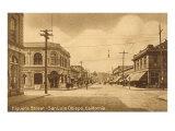 Higuera Street, San Luis Obispo, California Prints