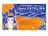 Ticket to Santa Catalina Prints