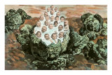 Victorian Babies in Cabbage Patch Poster