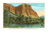 El Capitan, Yosemite National Park Posters