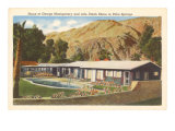 Celebrity Home, Palm Springs, California Prints