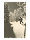 Cross Country Skier, Bear Valley Poster