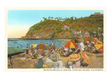 Avalon Beach, Santa Catalina Print
