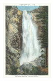 Bridal Veil Falls, Yosemite National Park, California Posters