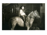 Little Cowboy on Appaloosa Posters