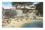 Bathing Beach, Pacific Grove Prints