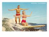 Tandem Surfing, Ventura Poster