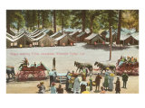 Ahwahnee Campground, Yosemite Prints