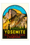Half-Dome, Yosemite National Park Posters