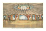 Casino Interior of Santa Catalina Print