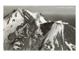 Black and White Mt. Shasta, California Posters