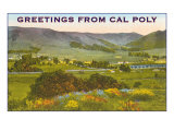 Greetings from Cal Poly, San Luis Obispo Prints