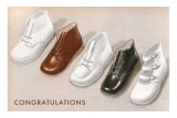 Congratulations, Baby Shoes Photo