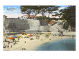 Bathing Beach, Pacific Grove Art