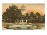 Capitol Building, Sacramento Prints