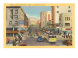Eighth Avenue, Sacramento Print