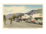 Andreas Road, Palm Springs, California Poster