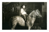 Little Cowboy on Appaloosa Prints