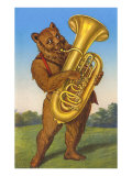 Tuba-Playing Bear Posters