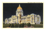 State Capitol, Little Rock, Arkansas Poster