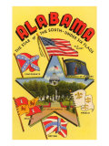 Six Flags of Alabama Posters
