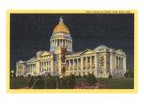 State Capitol, Little Rock, Arkansas Prints