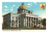 State Capitol, Montgomery, Alabama Prints